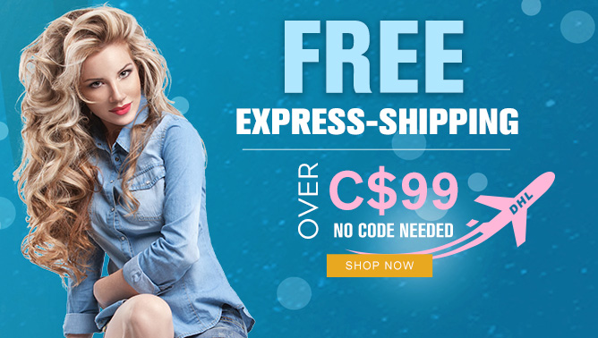 2017 Hair Extensions Free Express Shipping Sale Canada