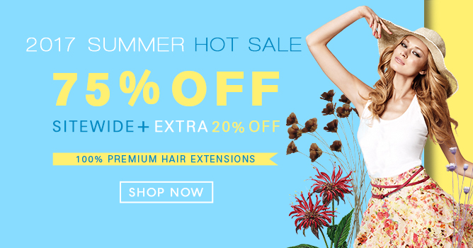 2017 Summer Hair Extensions Sale Canada