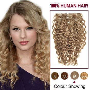 Clip In Curly Hair Extensions Canada 36