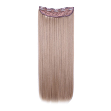24 inches Golden Blonde(#16) One Piece Clip In Synthetic Hair Extensions