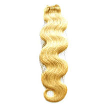 10 inches Ash Blonde (#24) Body Wave Indian Remy Hair Wefts