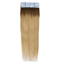 16 Inches #4/24 Ombre Tape In Human Hair Extensions
