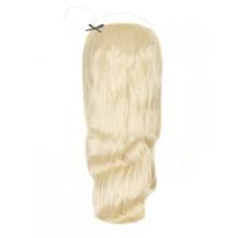 """18"""" 100g Human Hair Wavy Secret Hair White Blonde (#60)"""