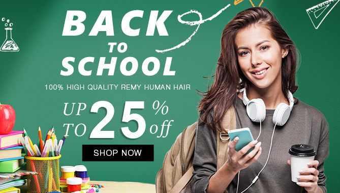 2018 Back to School Sale with our Hair Extensions Sale Canada