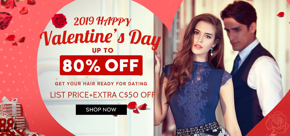 hair extensions valentine day sale Canada