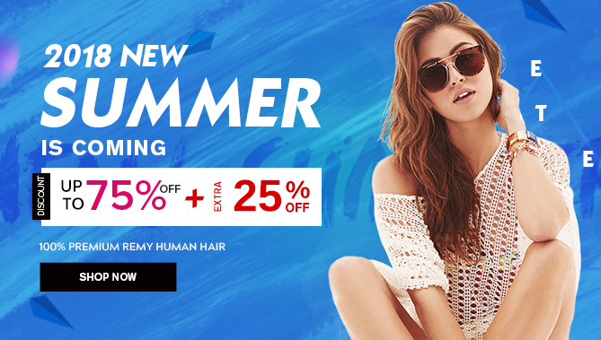 2018 Summer Sale with our Hair Extensions Sale Canada