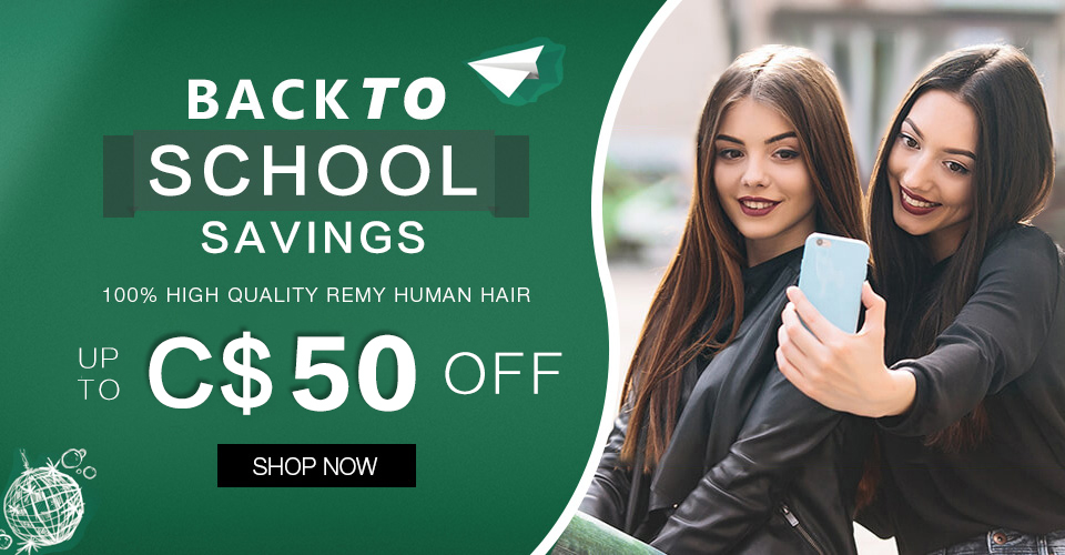 2019 back to school hair extensions sale Canada
