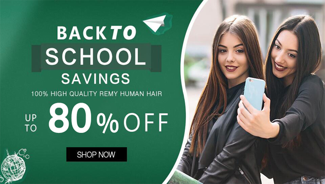 2021 back to school hair extensions sale Canada