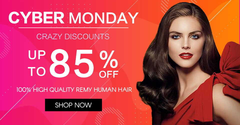 2020 hair extensions Cyber Monday sale Canada