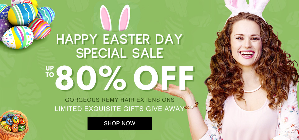 2019 hair extensions happy easter day sale Canada