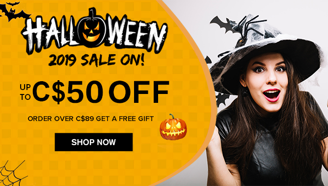 2019 Halloween Sale with our Hair Extensions Canada