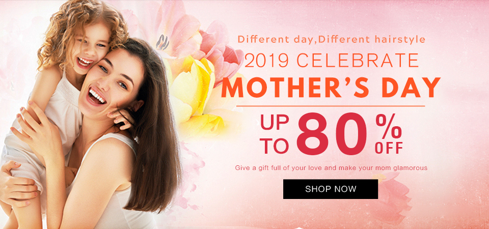 2019 hair extensions mother day sale Canada