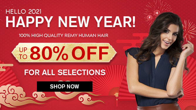 2021 New Year Sale with our Hair Extensions Canada