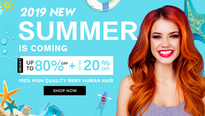 2019 Summer Sale with our Hair Extensions Canada