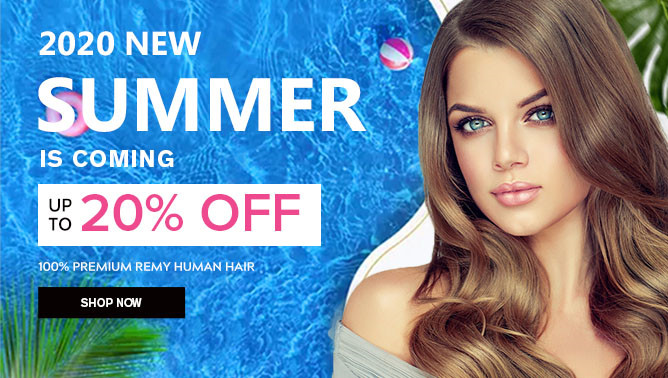 2020 Summer Sale with our Hair Extensions Canada