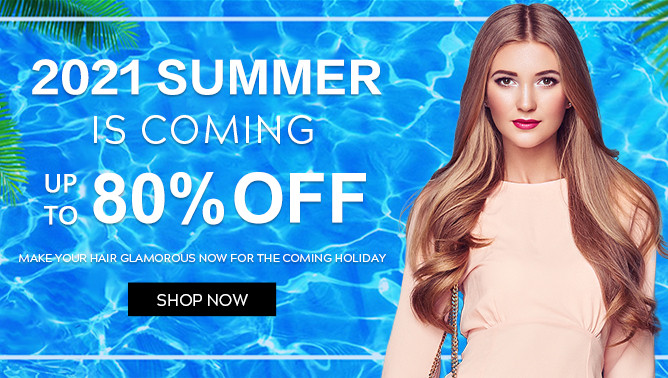 2021 Summer Sale with our Hair Extensions Canada
