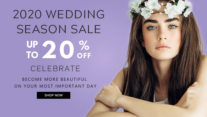 2020 Wedding Season Sale with our Hair Extensions Canada