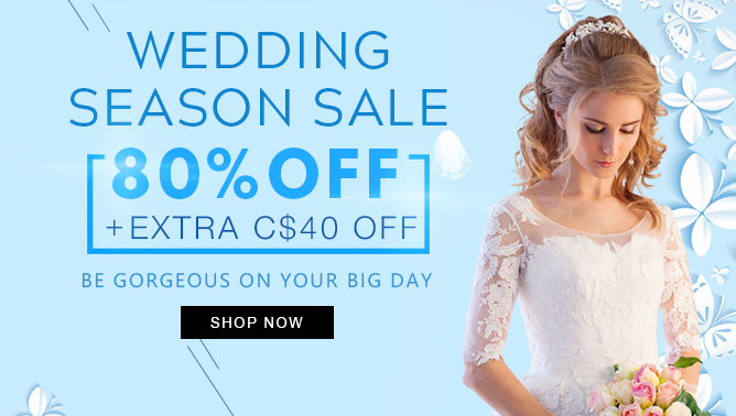 2019 Wedding Season Sale with our Hair Extensions Canada
