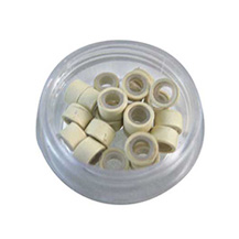 1000pcs Micro Links Blonde With Silicone for Hair Extensions