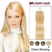 "20"" (#22) Micro Loop Human Hair Extension"