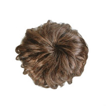 Bun Hair Piece Extension Synthetic Hairpiece Updo Flax Yellow 1 Piece
