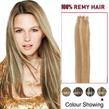 "20"" #12/613 Tape In Human Hair Extensions"