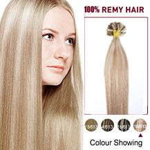 """18"""" #18/613 50s Nail Tip Human Hair Extensions"""