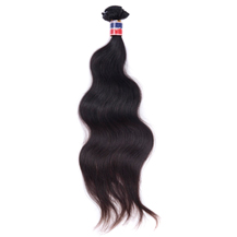 10 inches Natural Black (#1b) Body Wave Thailand Virgin Hair Weft