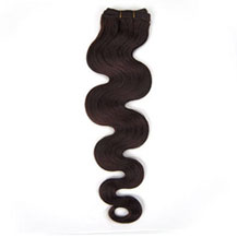 24 inches Dark Brown (#2) Body Wave Indian Remy Hair Wefts