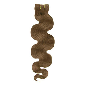 14 inches Ash Brown (#8) Body Wave Indian Remy Hair Wefts