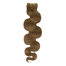 16 inches Ash Brown (#8) Body Wave Indian Remy Hair Wefts