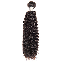 "10"" Dark Brown #2 Kinky Curly Brazilian Virgin Hair Wefts"