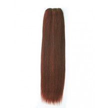 18 inches Dark Auburn (#33) Straight Indian Remy Hair Wefts