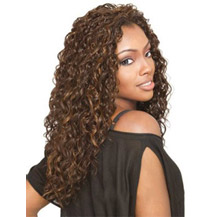 18 inches Human Hair Full Lace Wig Curly Ash Brown