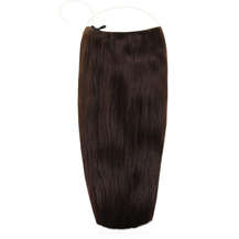 "18"" Human Hair Secret Extensions Dark Brown (#2)"