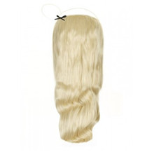 "18"" 100g Human Hair Wavy Secret Hair Bleach Blonde (#613)"